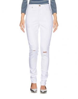 Джинсовые брюки JUICY COUTURE. Цвет: белый