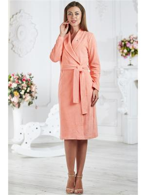 Халаты Банные AnGela. Цвет: персиковый