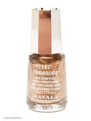 Лак для ногтей тон 117 Treasure Mavala. Цвет: золотистый