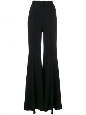 Расклешенные брюки с завышенной талией Elie Saab. Цвет: чёрный