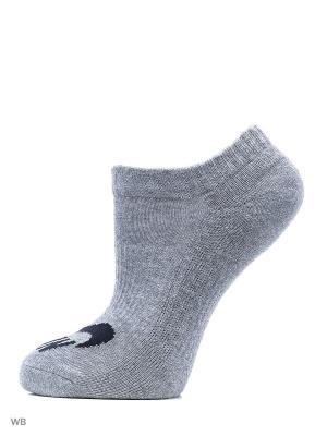 Носки NIKE SB 3PPK NO SHOW SOCK. Цвет: серый