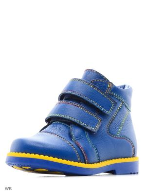 Ботинки San Marko. Цвет: синий