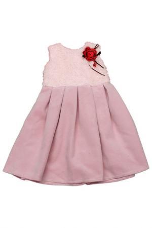 Платье Diamond Lady. Цвет: розовый