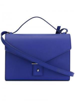 Средняя сумка через плечо Pb 0110. Цвет: синий