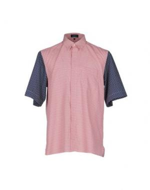 Pубашка GIULIANO FUJIWARA. Цвет: красный