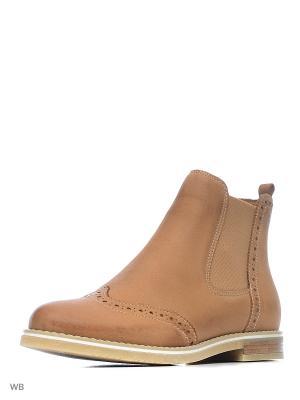 Ботинки Tamaris. Цвет: светло-коричневый