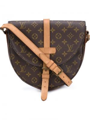 Сумка на плечо Chantilly GM Louis Vuitton Vintage. Цвет: коричневый