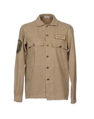 Pубашка AUTHENTIC ORIGINAL VINTAGE STYLE. Цвет: бежевый