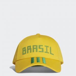 Кепка Бразилия  Performance adidas. Цвет: зеленый