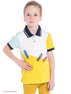 Футболка ШАЛУНЫ. Цвет: желтый