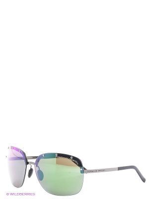 Солнцезащитные очки Porsche Design. Цвет: фиолетовый