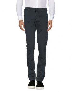 Повседневные брюки HЁLLS BЁLLS. Цвет: свинцово-серый