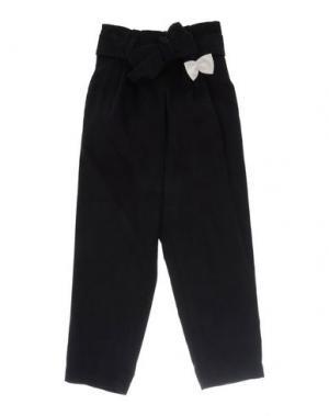 Повседневные брюки HUCKLEBONES. Цвет: темно-синий