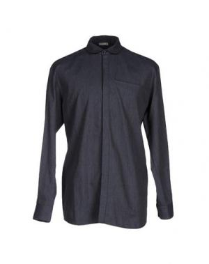 Джинсовая рубашка BONSAI. Цвет: грифельно-синий