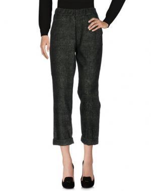 Повседневные брюки MARIUCCIA. Цвет: темно-зеленый