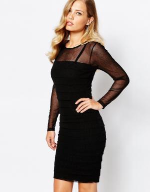 Body Frock Черное платье Claudia. Цвет: черный