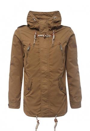 Куртка Alcott. Цвет: бежевый