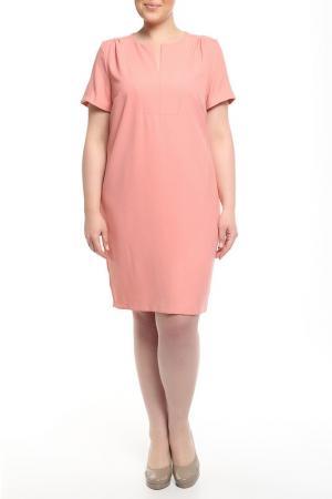 Платье Forus. Цвет: персиковый