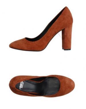 Туфли FESTA MILANO. Цвет: коричневый