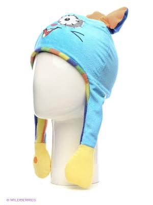 Шапка-заяц Fancy. Цвет: голубой