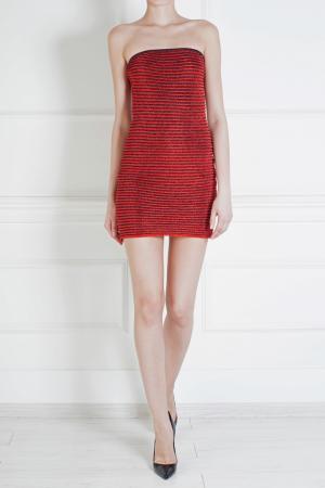 Платье из вискозы Jay Ahr. Цвет: красный
