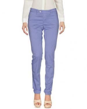 Повседневные брюки OAKS. Цвет: сиреневый
