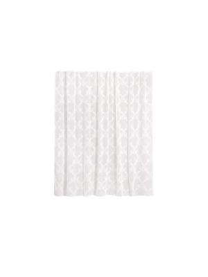 Тюль готовый 300х280 см на шторной ленте Brilliance WESS. Цвет: белый