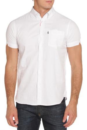 Рубашка LE SHARK. Цвет: белый