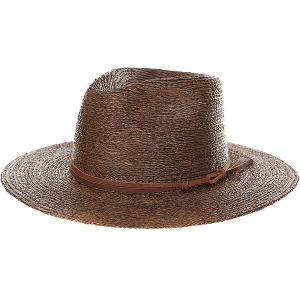 Шляпа  Simpson Fedora Brown Brixton. Цвет: коричневый