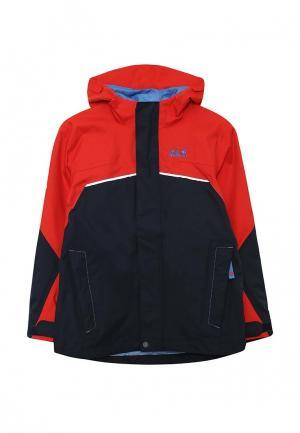 Куртка Jack Wolfskin. Цвет: разноцветный