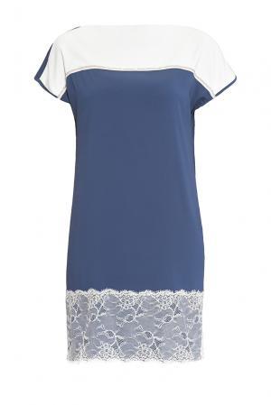 Je Talene Платье из вискозы 144399 T'alene. Цвет: синий