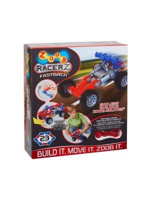 Подвижный конструктор ZOOB с инерционным механизмом OZ12055. Цвет: красный, серый, синий