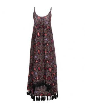 Платье длиной 3/4 BELAIR. Цвет: черный