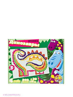 Мозаика Динозавры Десятое королевство. Цвет: зеленый
