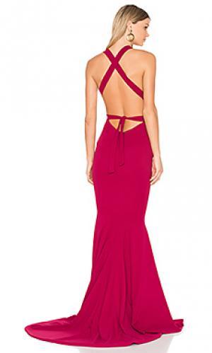 Вечернее платье las lasciiv Gemeli Power. Цвет: красный