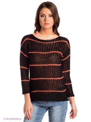 Джемпер E.A.R.C.. Цвет: оранжевый, черный