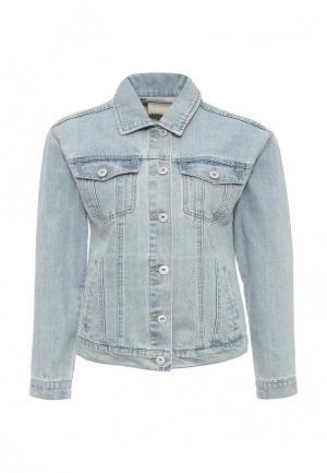 Куртка джинсовая BlendShe. Цвет: голубой