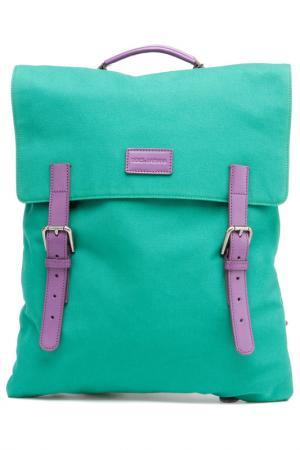 Рюкзак DOLCE & GABBANA. Цвет: зеленый