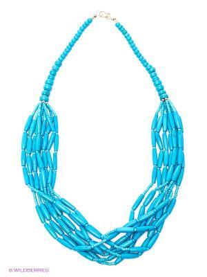 Ожерелье ГАНГ. Цвет: лазурный