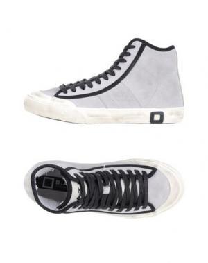 Высокие кеды и кроссовки D.A.T.E.. Цвет: светло-серый