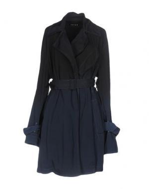 Легкое пальто AHIRAIN. Цвет: темно-синий