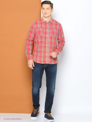 Рубашка PEPE JEANS LONDON. Цвет: оранжевый