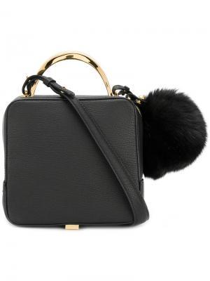 Pom shoulder bag The Volon. Цвет: чёрный