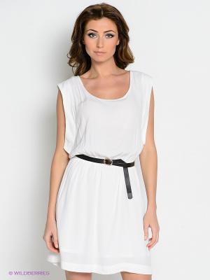 Платье Viaggio. Цвет: белый