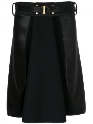 Asymmetric skirt The Reracs. Цвет: чёрный