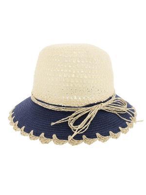 Шляпа R.Mountain. Цвет: бежевый, синий