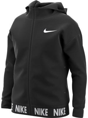 Толстовка G NK DRY HOODIE FZ CORE STUDIO Nike. Цвет: черный, белый
