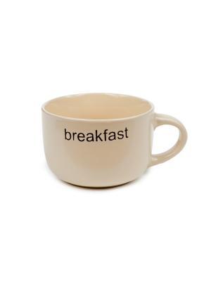 Чашка Elff Ceramics. Цвет: бежевый