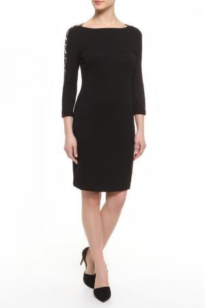 Платье CLASS ROBERTO CAVALLI. Цвет: черный