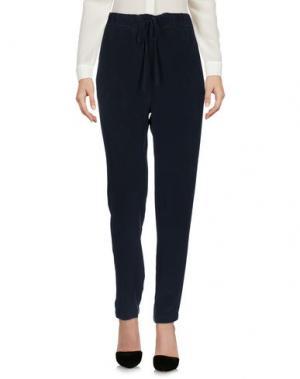 Повседневные брюки PEOPLE LAB.. Цвет: свинцово-серый